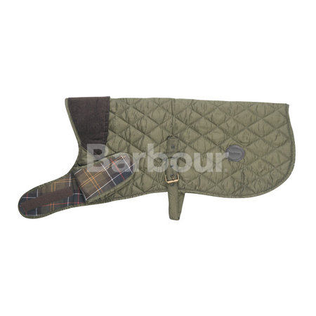 Barbour Quilted Dog Coat Olive Barbour Lifestyle: from the Classic capsule