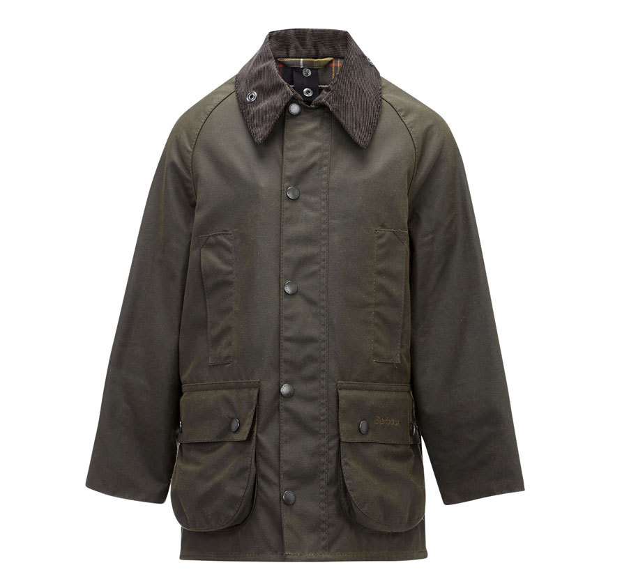 Barbour Boy´s Barbour Classic Beaufort Waxed Olive Encerado para niño