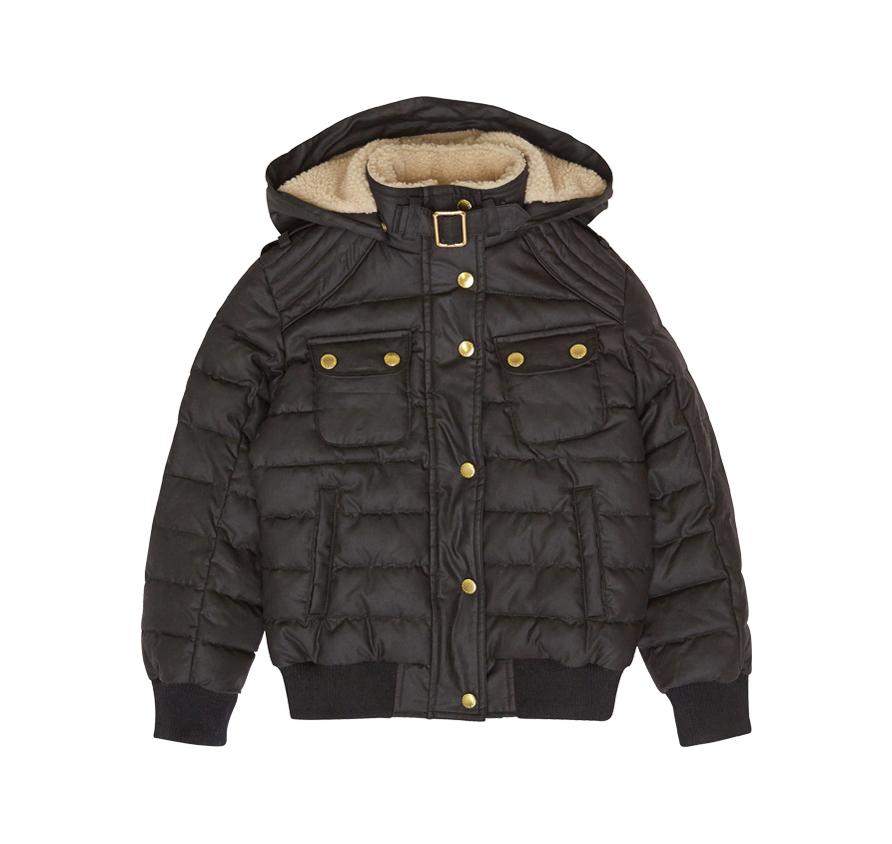 Barbour Girl´s Invergarry Waxed Jacket Encerada para niña