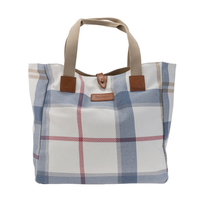 Barbour Summer Dress Tartan Tote Barbour Lifestyle: From the Dress Tartan capsule