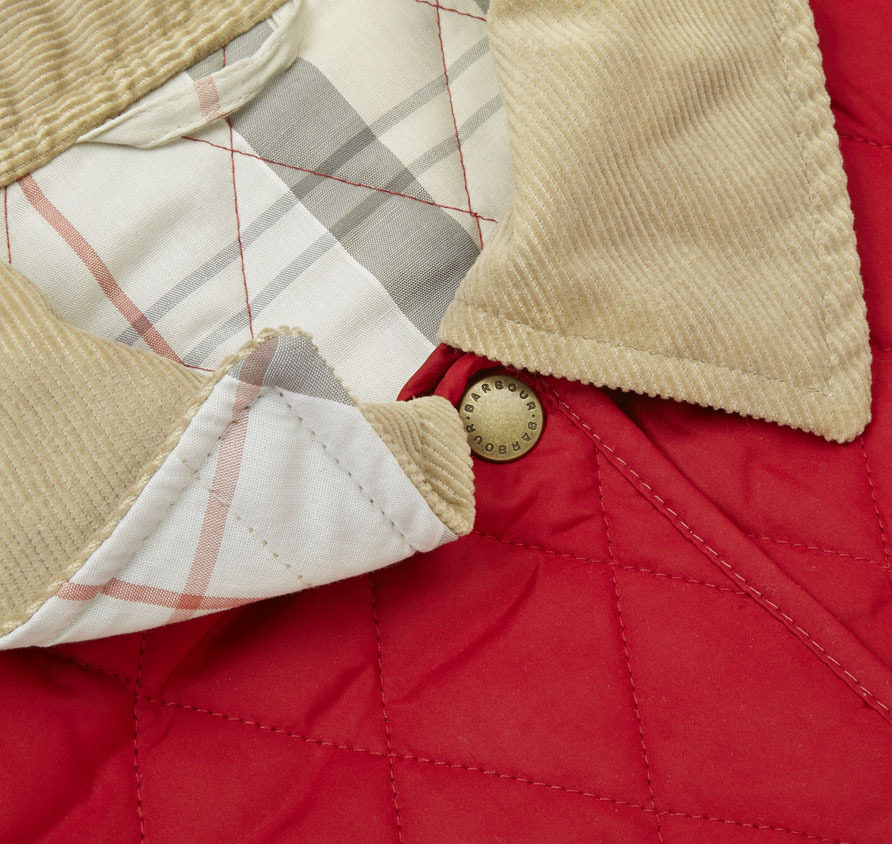 Barbour Spring Annandale Quilted Jacket Red