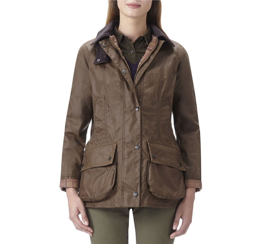 Barbour Barbour Beadnell Waxed Bark Barbour Lifestyle: from the Country capsule