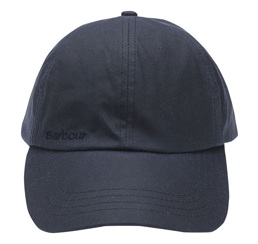 Barbour Wax Sports Cap Navy