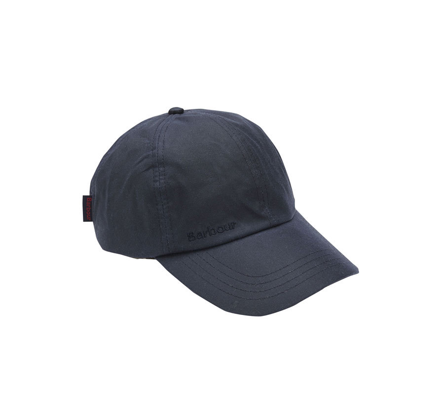 Barbour Wax Sports Cap Navy Barbour Sporting: from the Shooting capsule