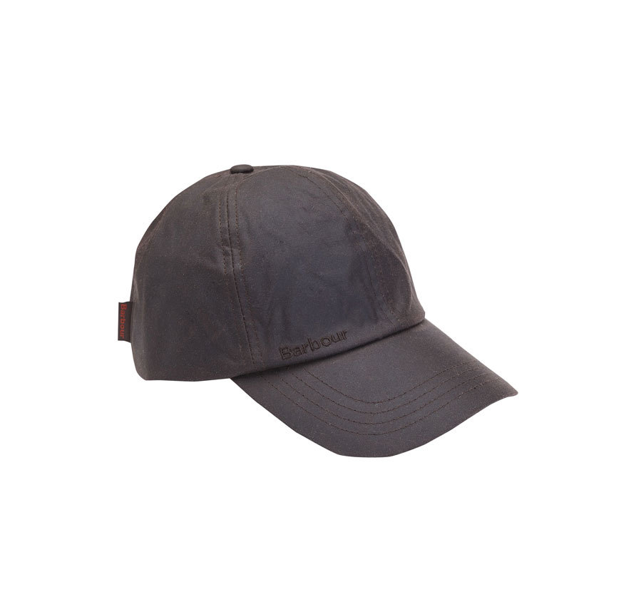 Barbour Wax Sports Cap Rustic
