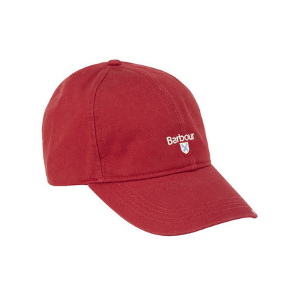 Branded Cascade Sports Cap Red Barbour Lifestyle: From the Classic capsule