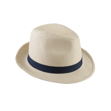 Barbour Emblem Trilby Hat Natural