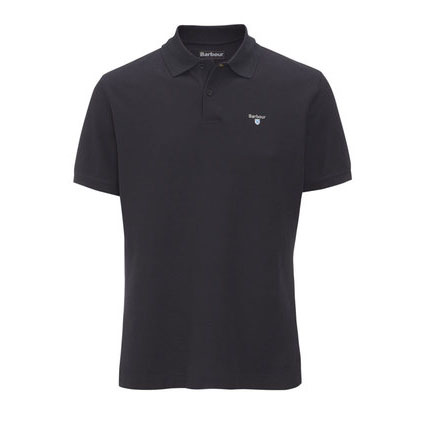 Barbour Barbour Sports Polo Shirt Navy Barbour Lifestyle: From the Core Essentials capsule