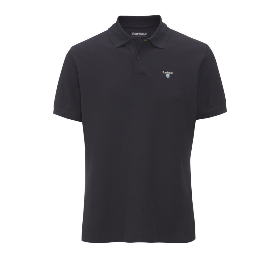 Barbour Sports Polo Shirt Navy