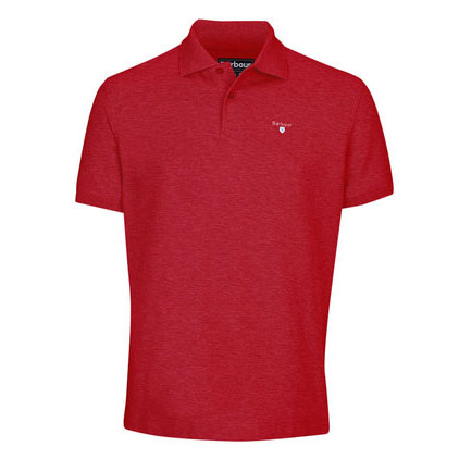 Barbour Barbour Sports Polo Shirt Red Barbour Lifestyle: From the Core Essentials capsule