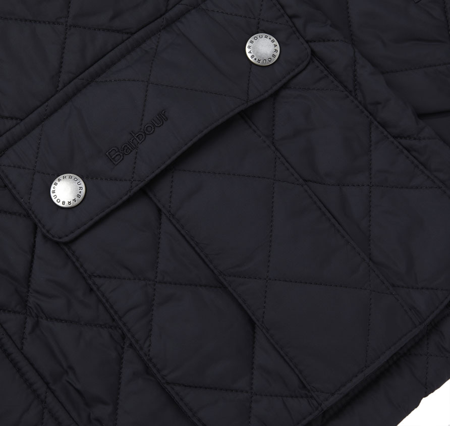 Barbour Ariel Quilted Jacket Black