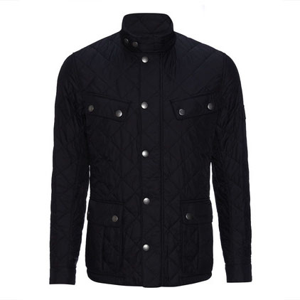 Barbour Ariel Quilted Jacket Black Barbour International: From the GB Tourer capsule