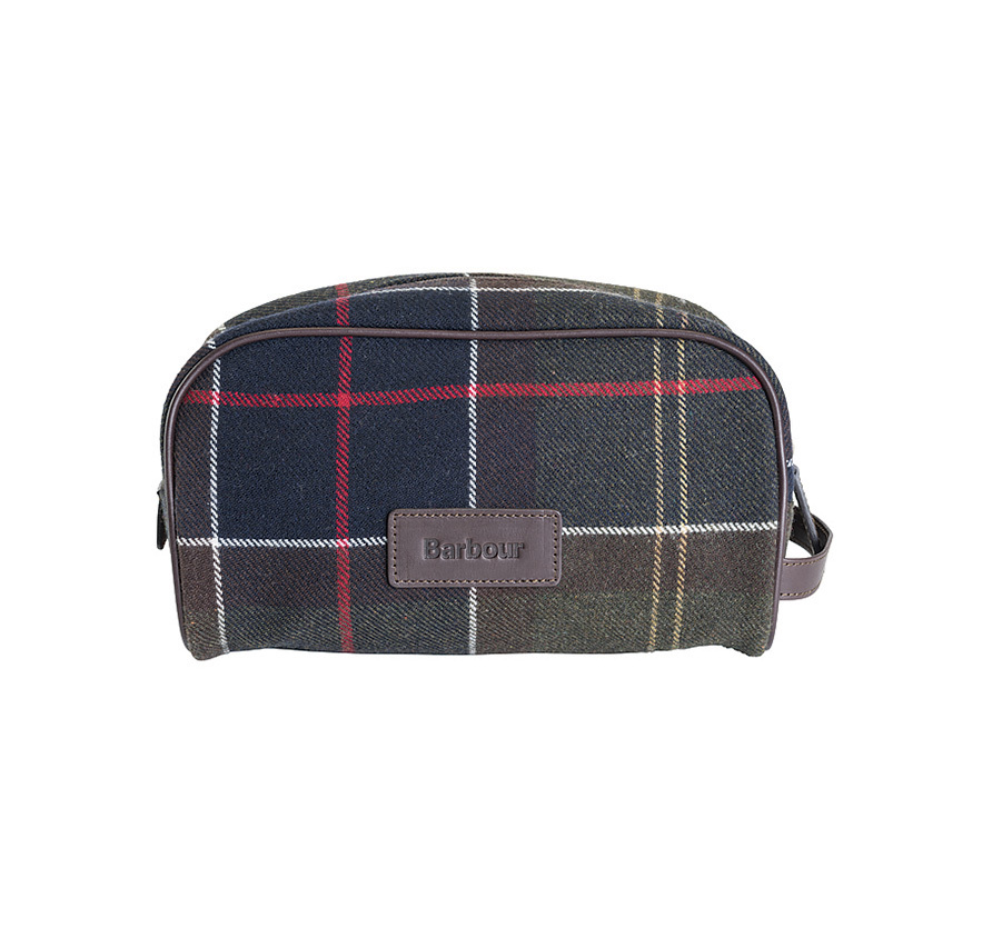 Barbour Tartan Wash Bag Barbour LIfestyle: from the Classic Tartan Collection