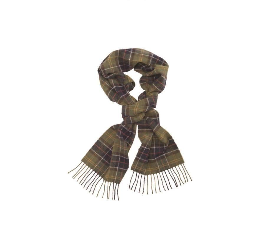 Barbour Tartan Lambswool Scarf Classic Barbour Lifestyle: from the Classic Tartan capsule