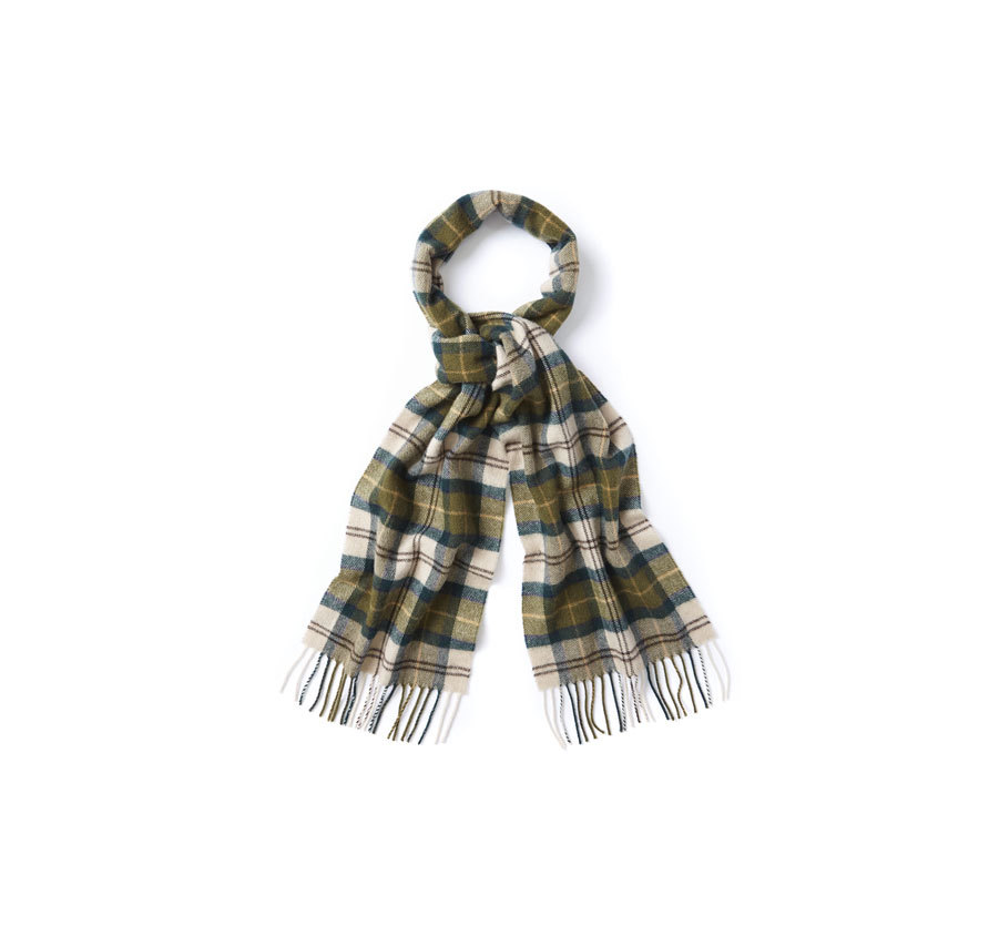 Barbour Barbour Tartan Lambswool Scarf Ancient Barbour Lifestyle: from the Classic Tartan capsule