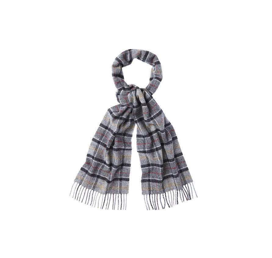 Barbour Tartan Lambswool Scarf Modern Barbour Lifestyle: from the Classic Tartan capsule