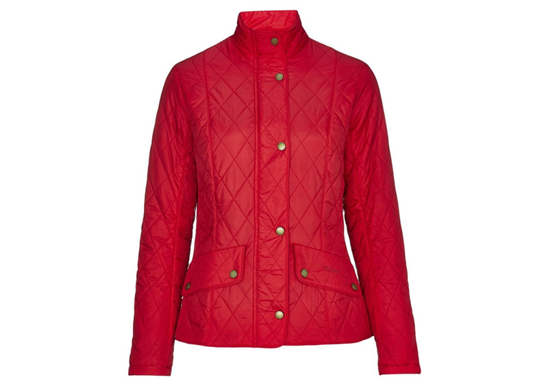 Barbour Flyweight Cavalry Jacket Red Ligera y con un toque ecuestre