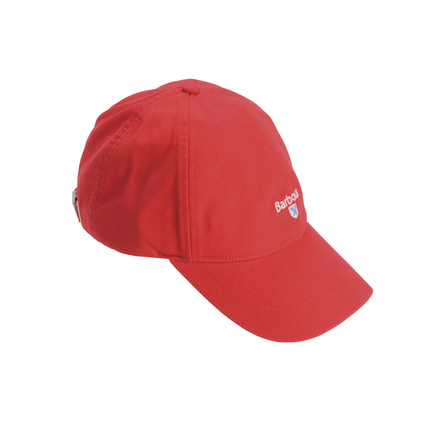 Barbour Branded Cascade Sports Cap Red 2 Barbour Lifestyle: From the Classic capsule