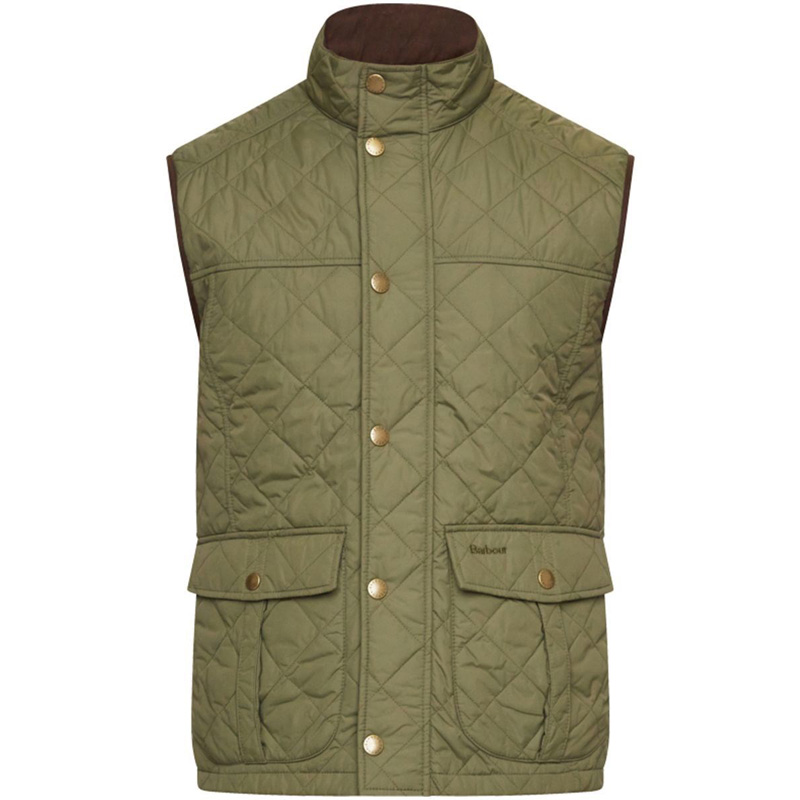 Barbour Explorer Gilet Olive Barbour Sporting: From the Barbour Country collection