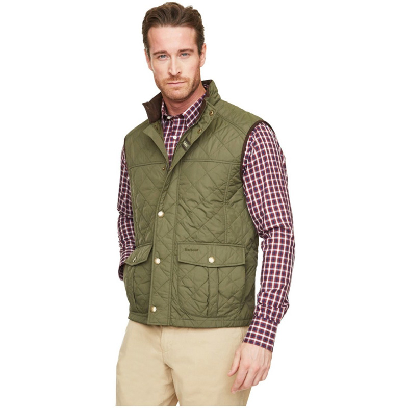 Barbour Explorer Gilet Olive