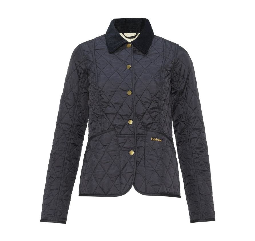 Barbour Barbour Summer Liddesdale Quilted Jacket Navy Barbour LIfestyle: From the Classic collection