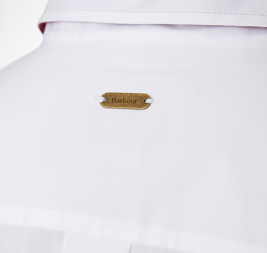 Barbour Cramlington Shirt White