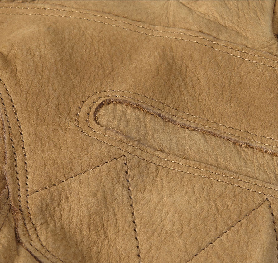 Barbour Leather Thinsulate Gloves Tan