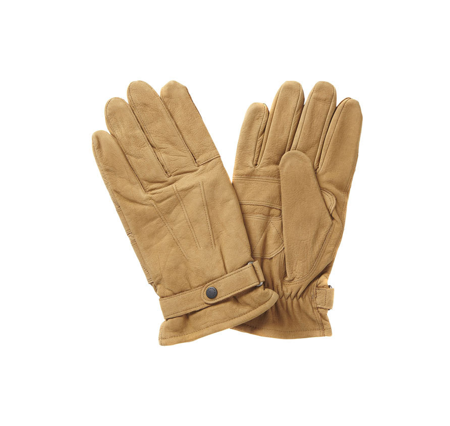 Barbour Barbour Leather Thinsulate Gloves Tan