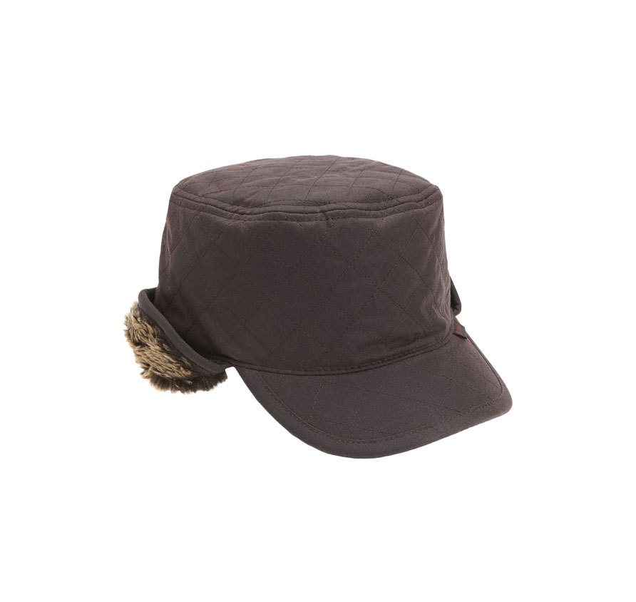 Barbour Barbour Stanhope Wax Trapper Hat Barbour Lifestyle: from the Classic capsule