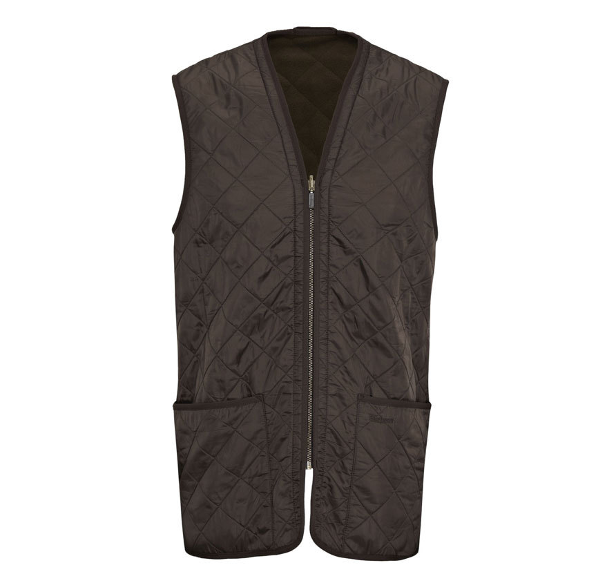 Barbour Barbour Polarquilt Waistcoat Zip-In Liner Brown Barbour Lifestyle: from the Classic capsule