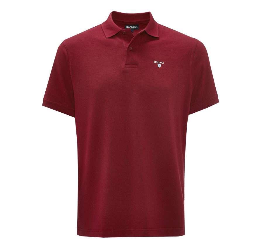 Sports Polo 215g Red Polo básico Barbour