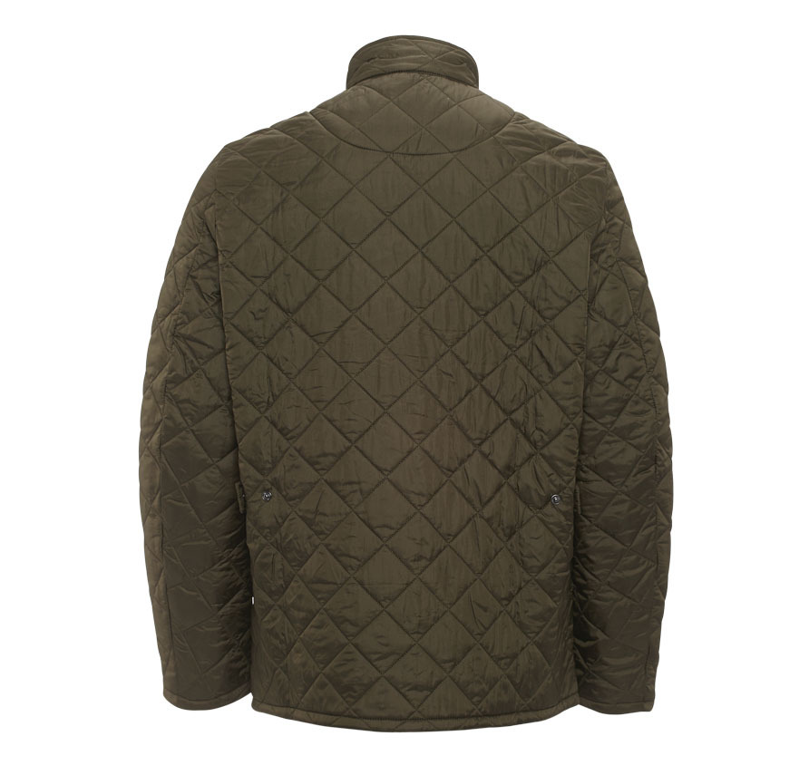 Barbour Flyweight Chelsea Quilted Jacket Olive