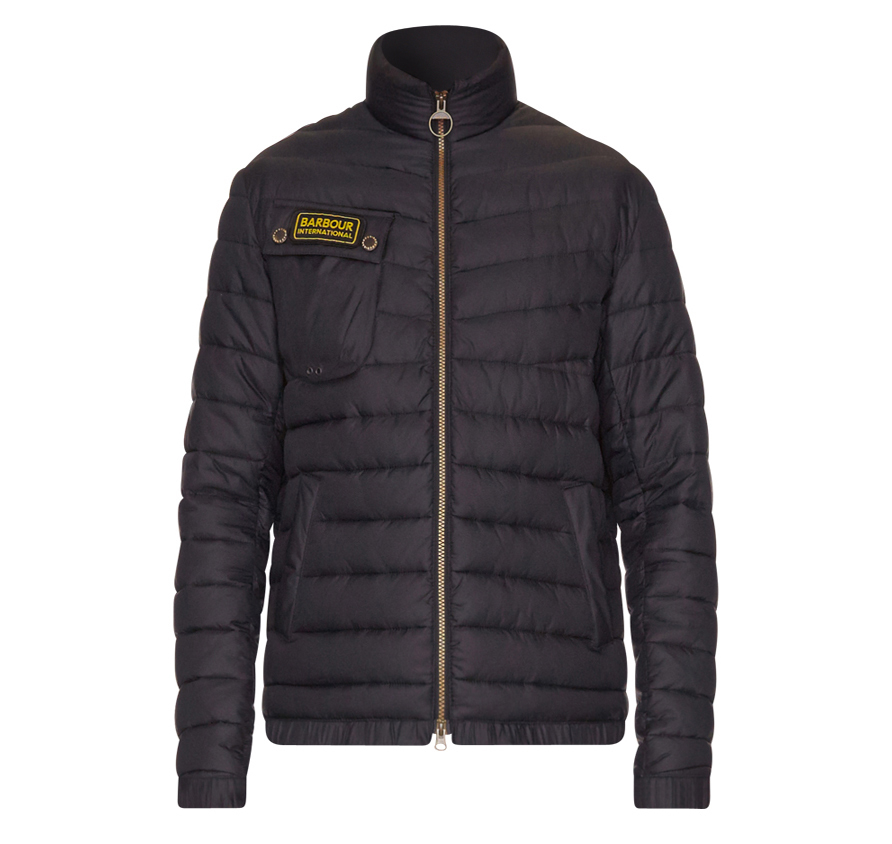 Barbour Chain Baffle Quilted International Barbour International, From the Winter Biker collection