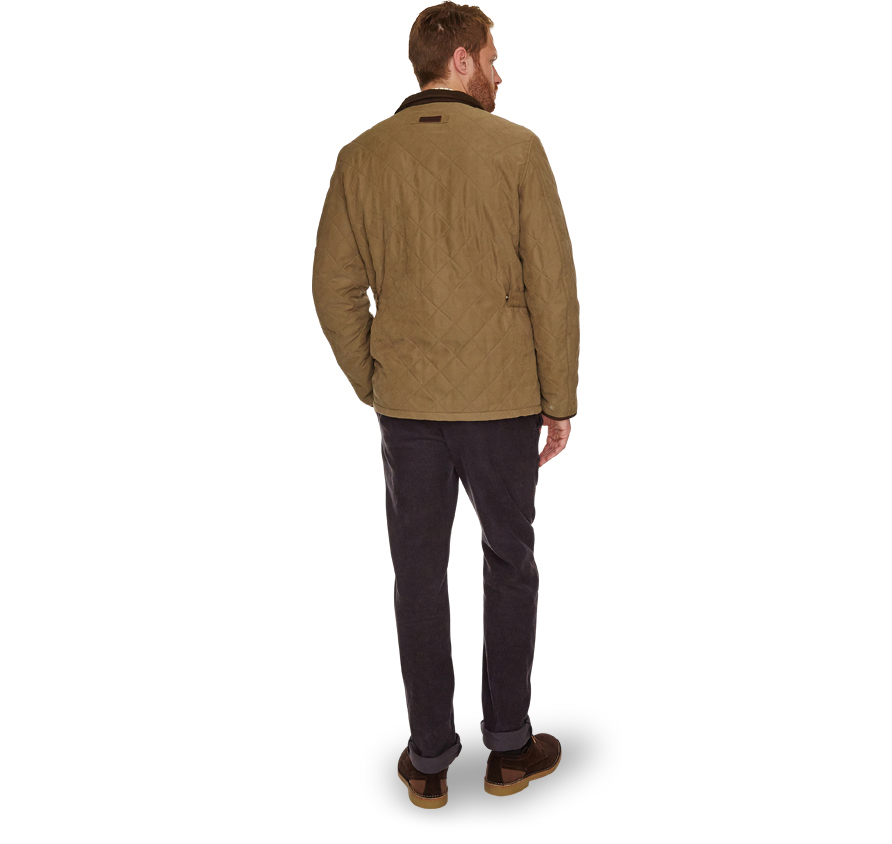 Barbour Bowden Quilted Jacket Olive