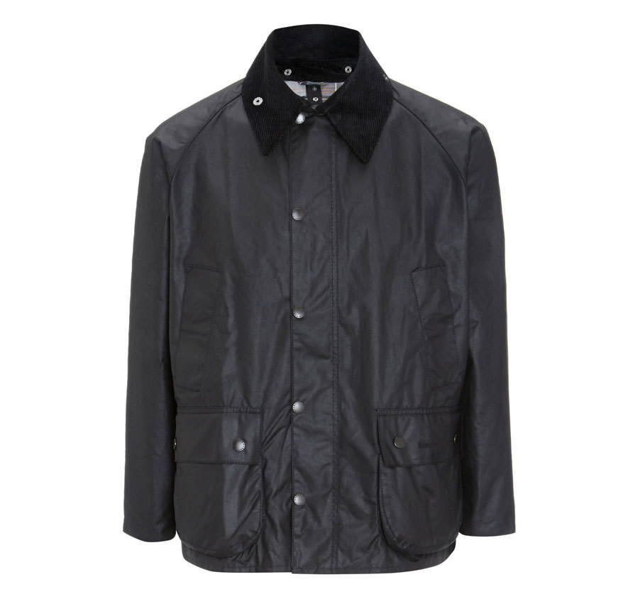 Barbour Bedale Jacket Black Barbour Lifestyle: from the Classic capsule
