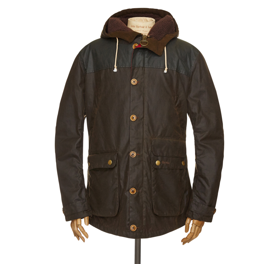 Barbour Game Parka Barbour Heritage: From the Homespun Tweeds collection