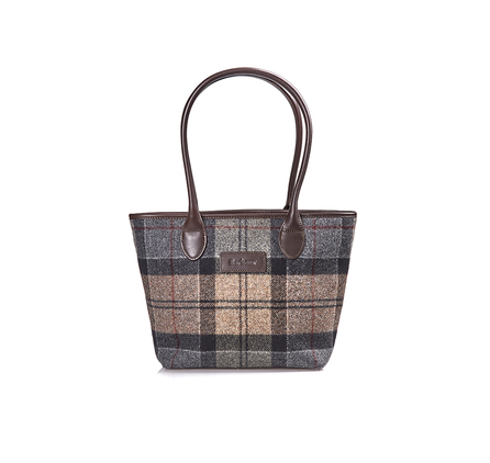 Barbour Dee Tartan Handbag Barbour Lifestyle: From the Winter Tartan collection