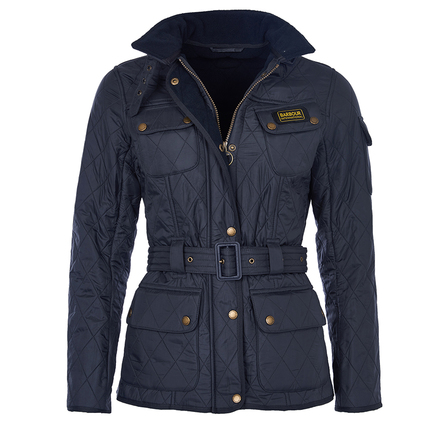 Barbour International Polarquilt Navy Barbour International: From the Tourer collection