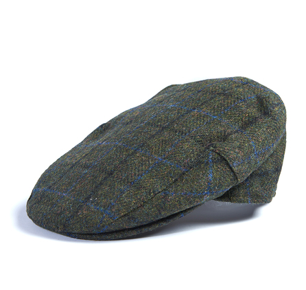 Barbour Moons Tweed Green Fine