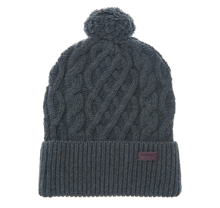 Barbour Cable Knit Beanie Olive Barbour Lifestyle: From the Great Coat collection