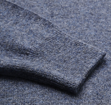 Barbour Essential Lambswool V Neck Sweater Light Denim