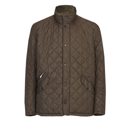 Barbour Chelsea Sportsquilt Jacket Olive Barbour Lifestyle: From the Core Essentials collection