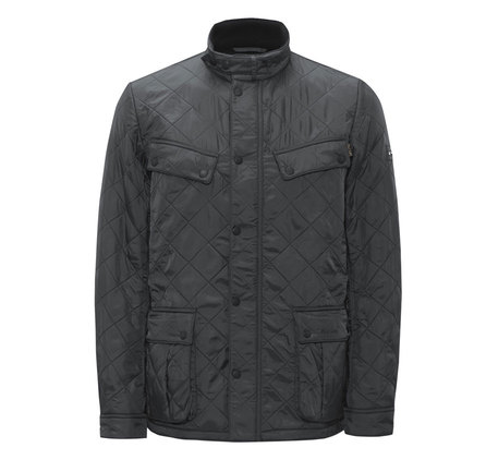 Barbour Ariel Polarquilt Jacket Charcoal Barbour Internacional: from the World Tour capsule