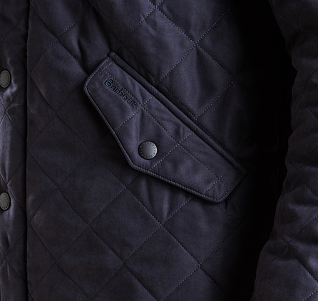 Barbour Bowden Quilted Jacket Navy