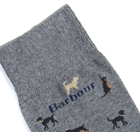 Barbour Mavin Socks Mid blue