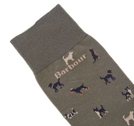 Barbour Mavin Socks Olive