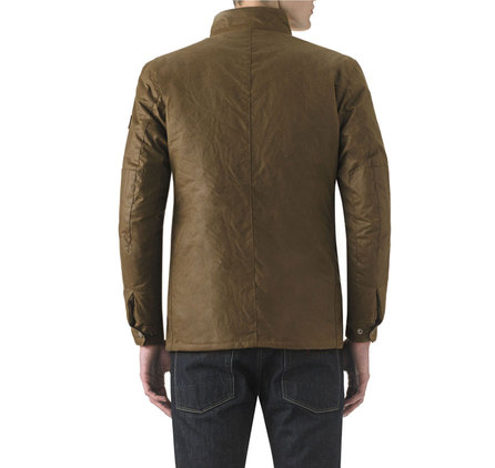 Barbour Duke Waxed Jacket Bark