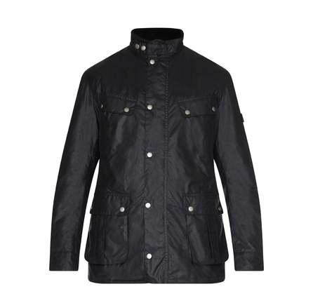 Barbour Duke Waxed Jacket Navy Una prenda actual pero recordando sus orígenes