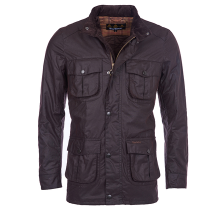 Barbour Corbridge Waxed Jacket Rustic Barbour Lifestyle: from the Storm capsule