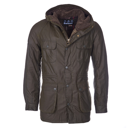 Barbour Brindle Waxed Jacket Barbour Lifestyle: From the Tartan collection